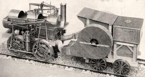 la locomotive à chaudière tubulaire de Marc Seguin