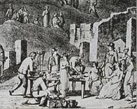 Fouilles à Pompéi