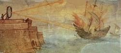 Le miroir ardent d'Archimède
