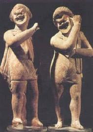 Acteurs, Rome, fin du 1er siècle