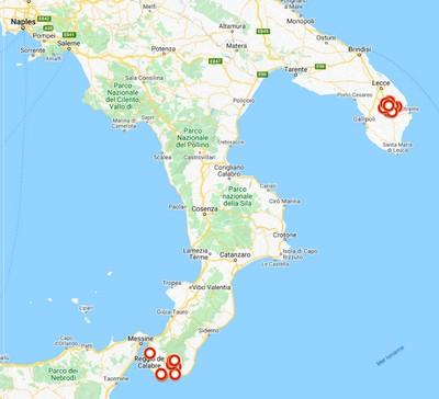Les villages grecs d'Italie du sud
