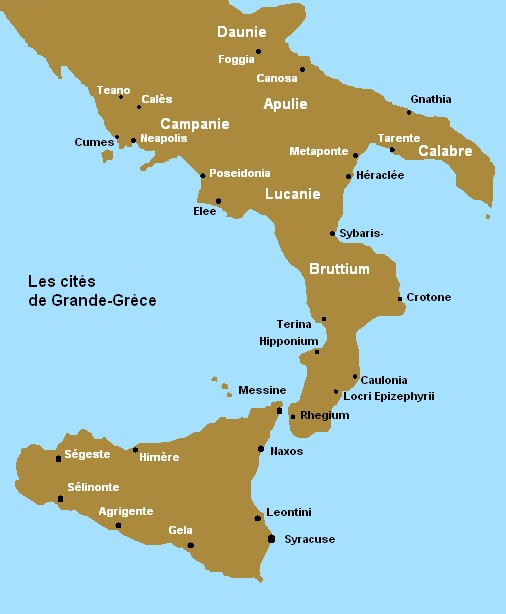 Tarentum Italy Map.A Short Story Of Magna Graecia